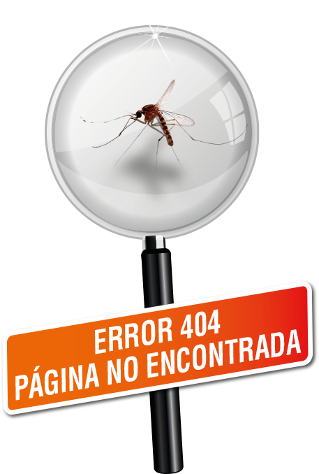 Error 404. Página no encontrada